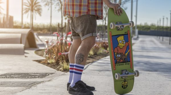 american socks skate streetwear lookbook skatepark la marbella