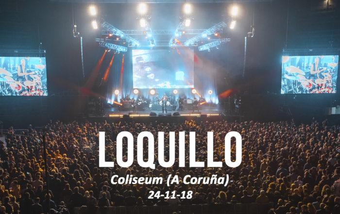 Loquillo gira 40 aniversario Igor paskual Coliseum A Coruña
