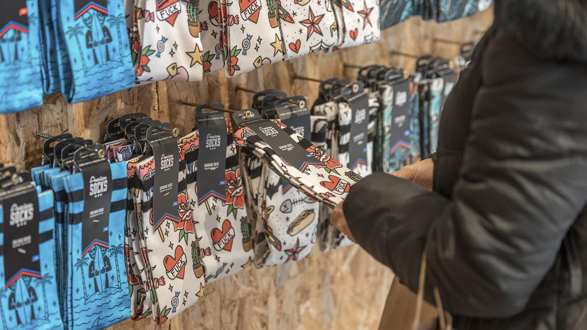 American Socks Rec.0 experimental Stores